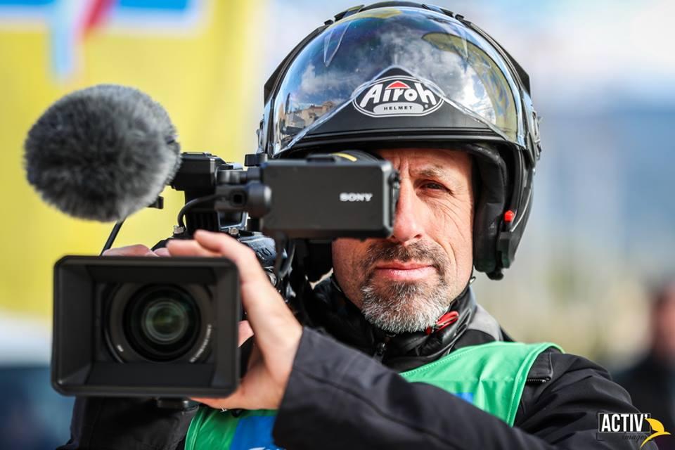 Fred Ripert cadreur moto pour ActivImage