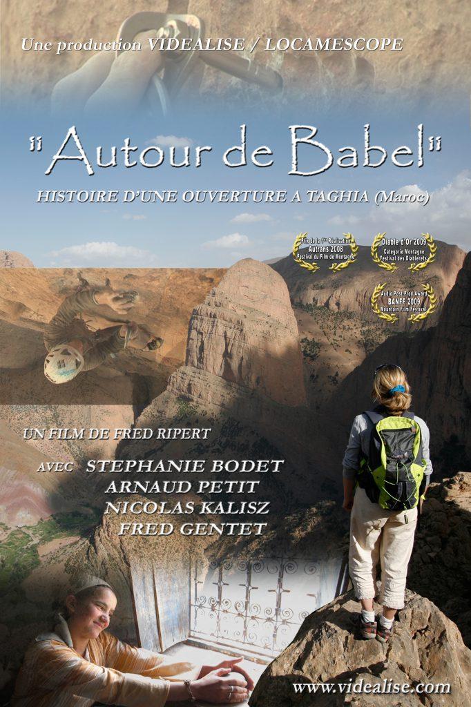 Affiche Autour de Babel film de Fred Ripert avec Stéphanie Bodet et Arnaud Petit