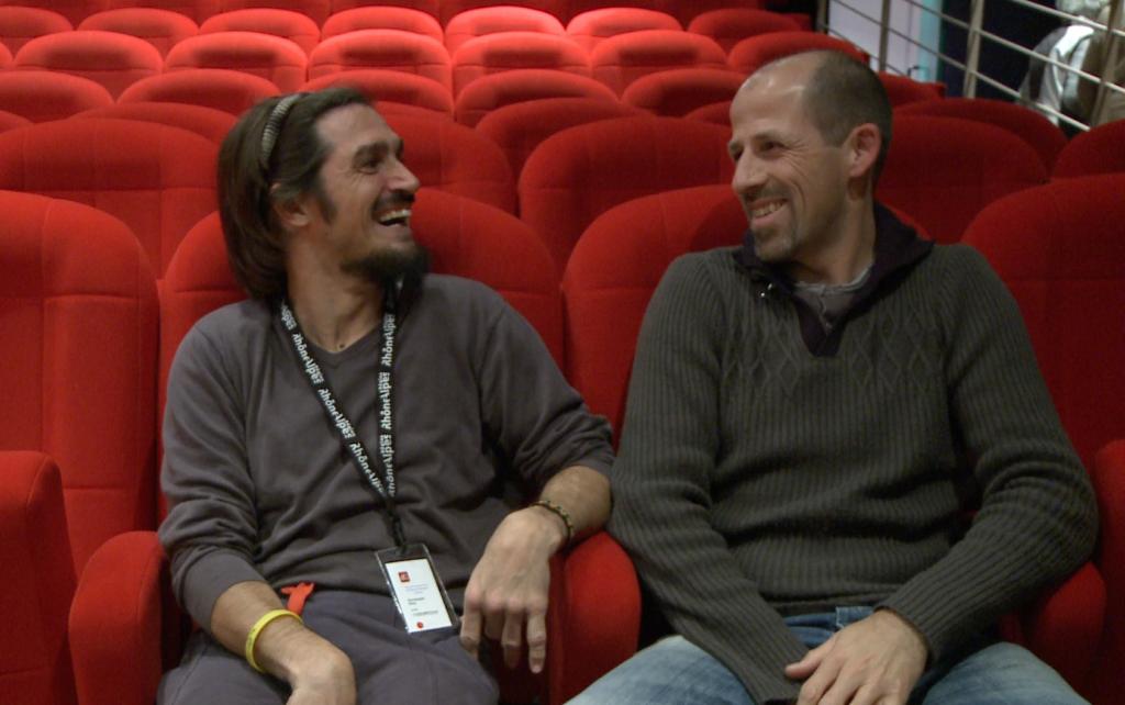 Christophe Riti et Fred Ripert au festival d'Autrans 2012
